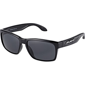 Rudy Project Spinhawk Slim Glasses Black Gloss/Smoke Black